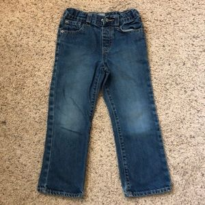 The children's Place size 5 adjustable waist jeans